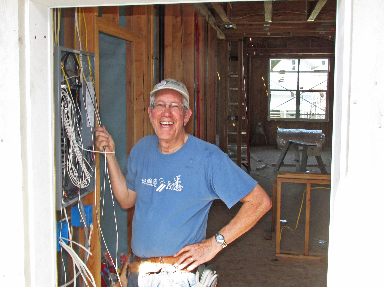 Habitat Volunteer Mike Heller