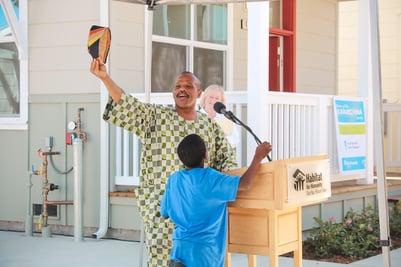 Habitat Homeowner Gives Thanks