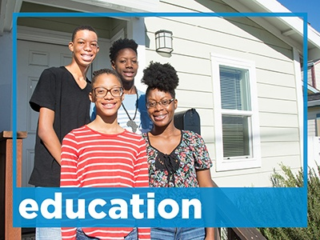 Homeownership supports education