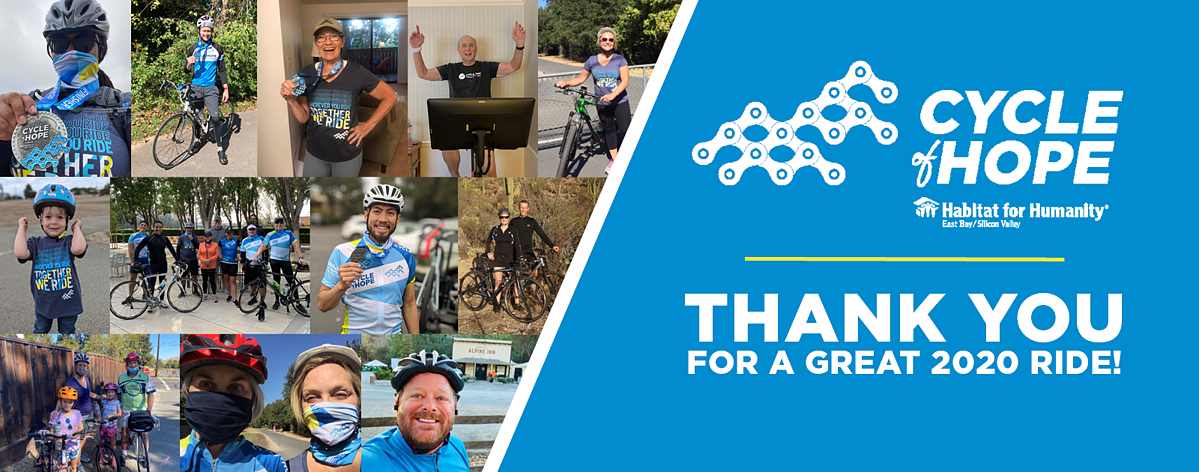 Thank you Cycle of Hope Riders!