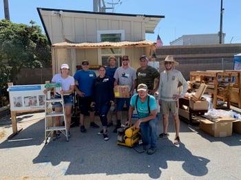 Volunteers at Bridge Housing Communities
