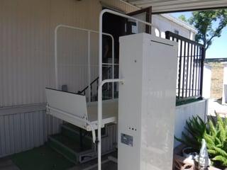 Wheelchair lift repair