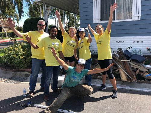EY Build Day with Home Repair
