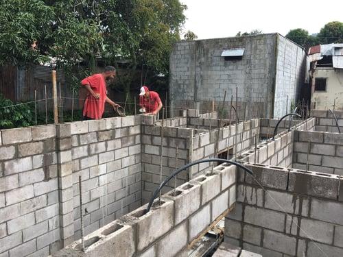 Home Construction in El Salvador